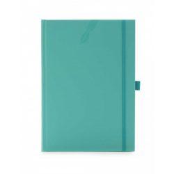 Agenda 2020 nedatata Matra cu elastic si suport pentru pix 15 x 21 cm - [Verde Aqua]