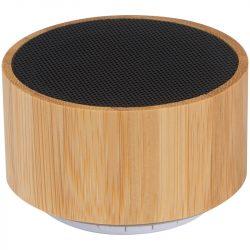 3096913 - Boxa Bluetooth cu invelis din bambus