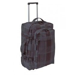 56-0219545 - Troller rucsac Checker cu fermoar si bretele