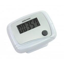 56-0406106 - Pedometru  Easy Run  cu ecran LCD care arata numarul de pasi facuti