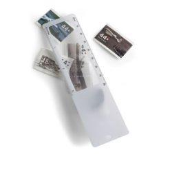 7702-02 - Rigla de plastic cu lupa