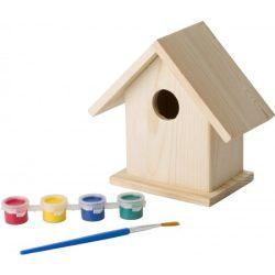 8868-11 - Casa pentru pasari si set pentru pictat