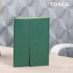 Agenda Tosca Nedatata - 16 x 22 cm [verde perlat]