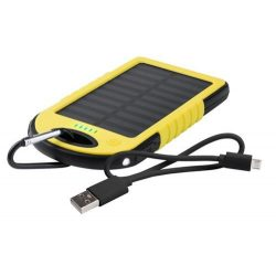 AP741932-02 - Baterie externa 4000 mAh cu incarcare solara - Lenard