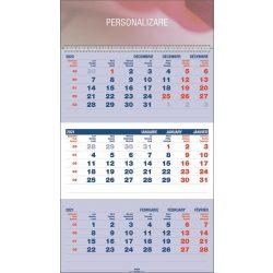 Calendar triptic clasic 2020