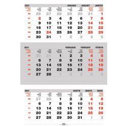 Calendar triptic pliat 2020