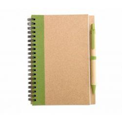 IT3775-48 - Block notes reciclat si pix