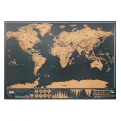MO9736-13 - Harta lumii razuibila 42x30 cm - BEEN THERE
