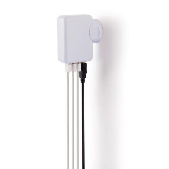 P820373 - Stecher pentru calatorie cu 4 port-uri USB