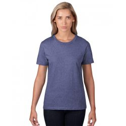 an880 - Tricou adult dama Anvil [Heather Blue]