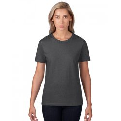 an880 - Tricou adult dama Anvil [Heather Dark Grey]