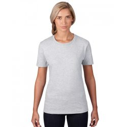 an880 - Tricou adult dama Anvil [Heather Grey]