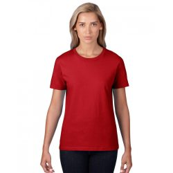 an880 - Tricou adult dama Anvil [Red]