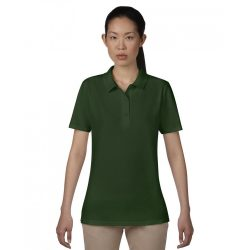 anL6280 - Tricou polo adult dama Anvil Double Pique [Forest Green]