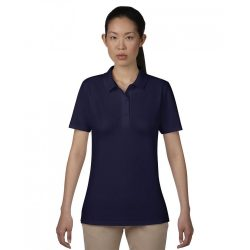 anL6280 - Tricou polo adult dama Anvil Double Pique [Navy]