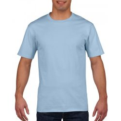 gi4100 - Tricou adult barbat Gildan Premium Cotton [Light Blue]