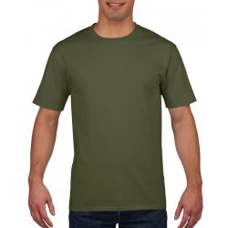 gi4100 - Tricou adult barbat Gildan Premium Cotton [Military Green]
