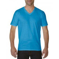 gi41V00 - Tricou adult barbat Gildan Premium Cotton [Sapphire]
