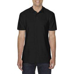 gi64800 - Tricou polo adult barbat Gildan Softstyle [Black]