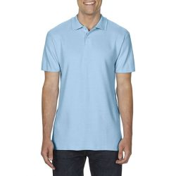 gi64800 - Tricou polo adult barbat Gildan Softstyle [Light Blue]