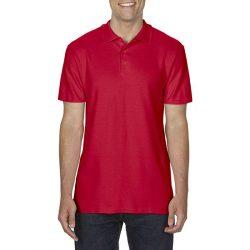 gi64800 - Tricou polo adult barbat Gildan Softstyle [Red]