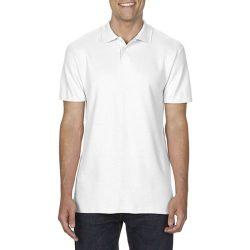 gi64800 - Tricou polo adult barbat Gildan Softstyle [White]
