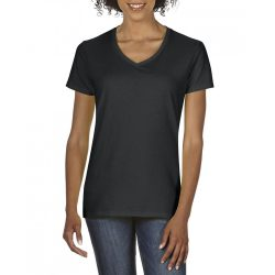 giL4100V - Tricou adult dama Gildan Premium Cotton [Black]