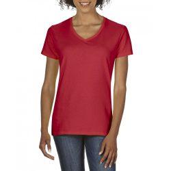 giL4100V - Tricou adult dama Gildan Premium Cotton [Red]