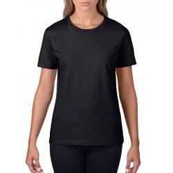 giL4100 - Tricou adult dama Gildan Premium Cotton [Black]