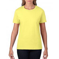 giL4100 - Tricou adult dama Gildan Premium Cotton [Cornsilk]