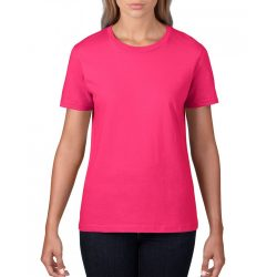 giL4100 - Tricou adult dama Gildan Premium Cotton [Heliconia]