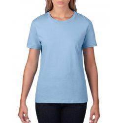 giL4100 - Tricou adult dama Gildan Premium Cotton [Light Blue]