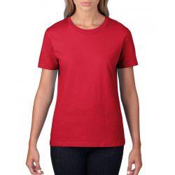 giL4100 - Tricou adult dama Gildan Premium Cotton [Red]