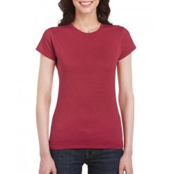 giL64000 - Tricou adult dama Gildan Softstyle [Antique Cherry Red]