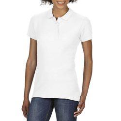 giL64800 - Tricou polo adult dama Gildan Softstyle [White]