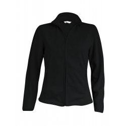 ka907 - Jacheta micro fleece de dama Kariban MAUREEN [Black]