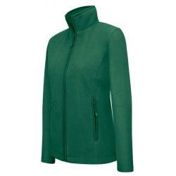 ka907 - Jacheta micro fleece de dama Kariban MAUREEN [Forest Green]