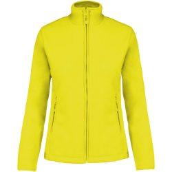 ka907 - Jacheta micro fleece de dama Kariban MAUREEN [Fluorescent Yellow]