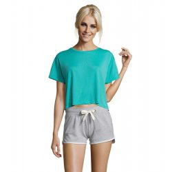 so01703 - Tricou adult dama Sol's Maeva [Carribean Blue]