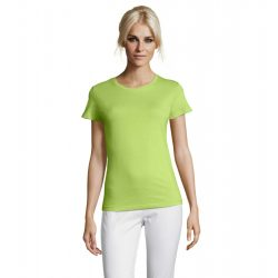 so01825 - Tricou adult dama Sol's Regent [Apple Green]