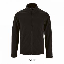 so02093 - Jacheta fleece de barbat Sol's NORMAN [Black]