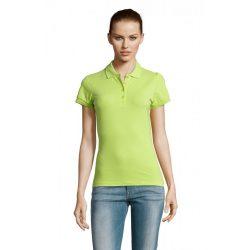 so11338 - Tricou polo adult dama Sol's Passion [Apple Green]