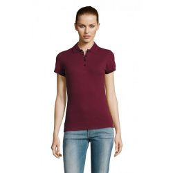 so11338 - Tricou polo adult dama Sol's Passion [Burgundy]