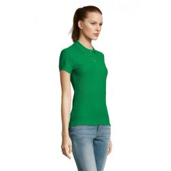 so11338 - Tricou polo adult dama Sol's Passion [Kelly Green]