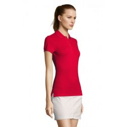 so11338 - Tricou polo adult dama Sol's Passion [Red]
