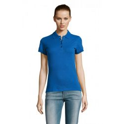 so11338 - Tricou polo adult dama Sol's Passion [Royal Blue]