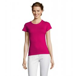 so11386 - Tricou adult dama Sol's [Fuchsia]