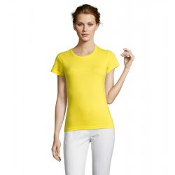 so11386 - Tricou adult dama Sol's [Lemon]