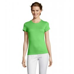 so11386 - Tricou adult dama Sol's [Lime]
