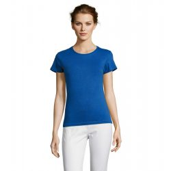 so11386 - Tricou adult dama Sol's [Royal Blue]